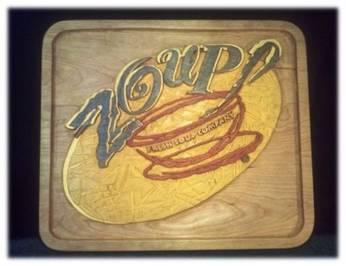 Custom Made Zoup! Sign
