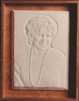 Custom Made Portrait Of A Woman Relief