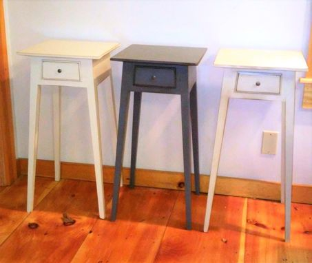 Custom Made Small Hepplewhite Nightstand (Painted)