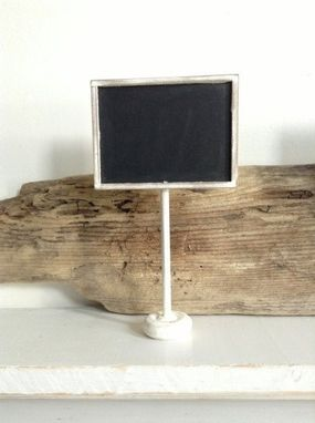 Custom Made Rustic Chalkboard Seating Cards/ Display Signs