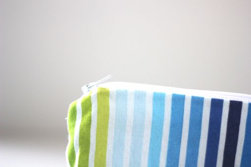 Custom Made Mini Gusseted Messy Bags (Snack Bags) - Caribe Stripe