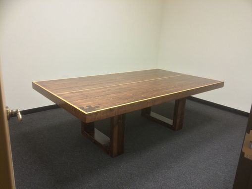 Custom Made Ping-Pong Conference Table