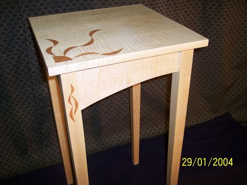 Custom Made Flame Table