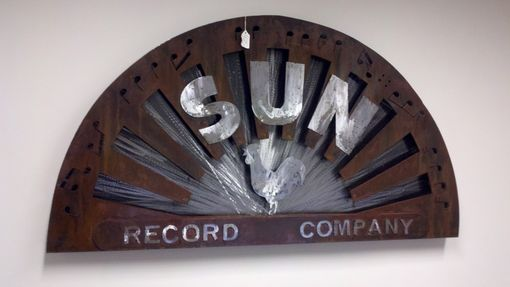 Custom Made Old School Sign Replica 1