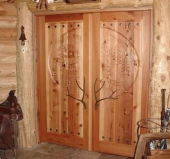 Custom Made Solid Wood Doors