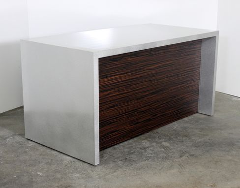 Custom Made Chemetal Reception Desk