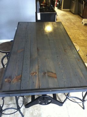 Custom Made Custom Table Top- Repurposed Lumber