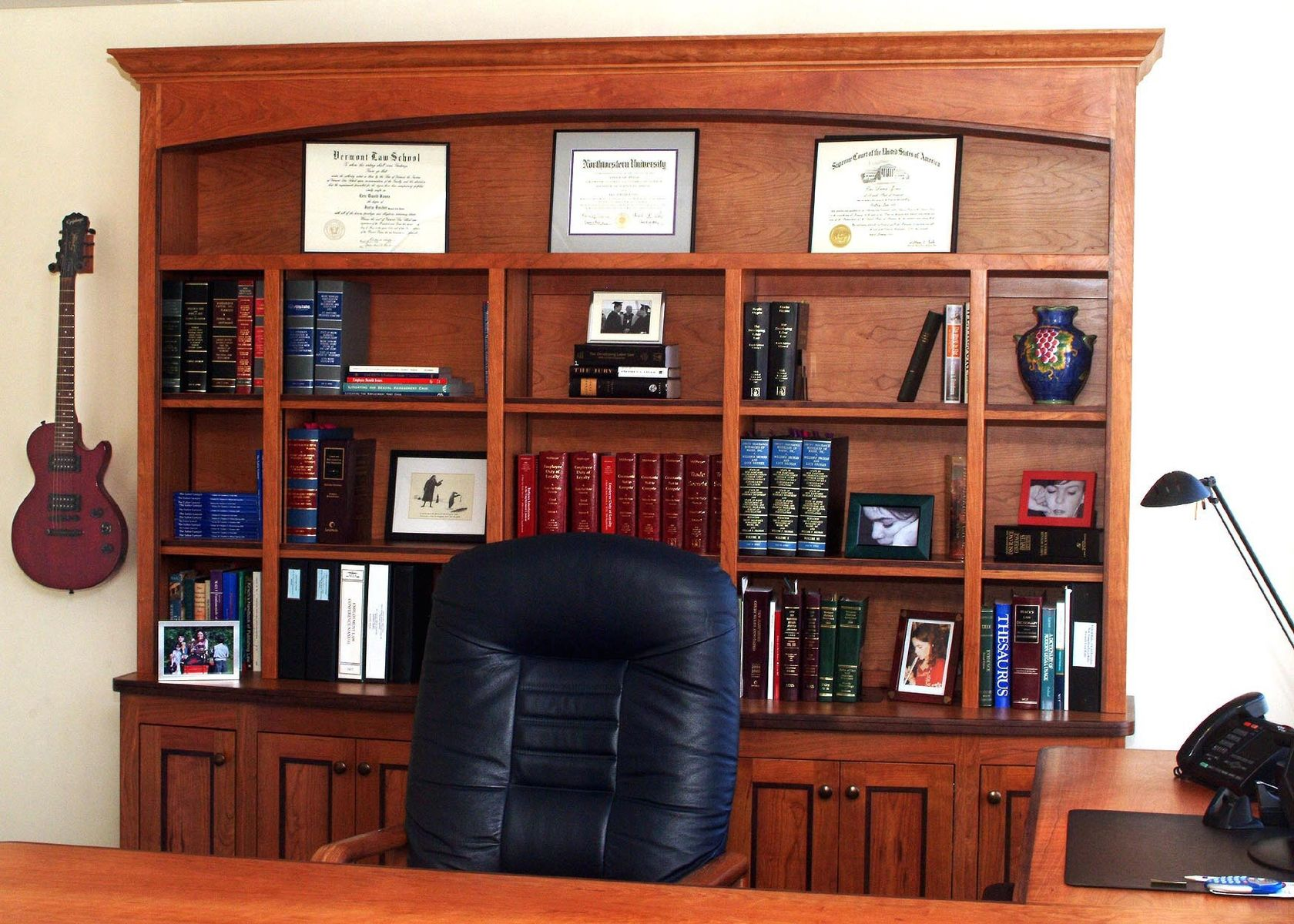Hand Crafted Lawyer S Office Suite By Homecoming Woodworks