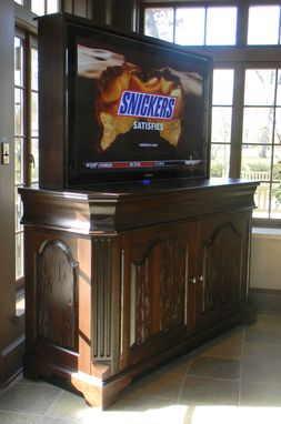 "Custom Made 58"" Cypress Tv Lift"