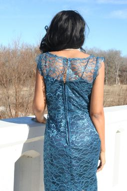 Custom Made Lace Cocktail Dress