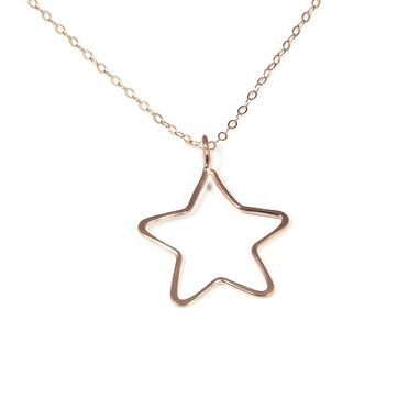 Custom Made My Little Star Necklace