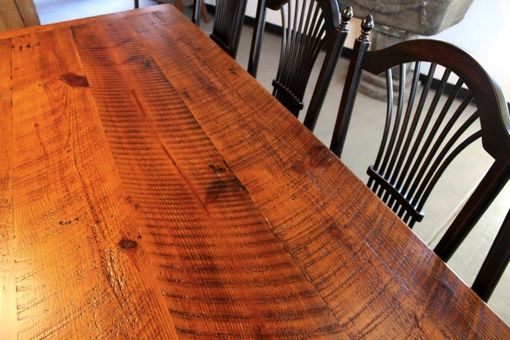 Custom Made Very Rustic Dining Table From Salvaged Wood