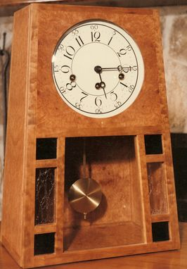 Custom Made Arts And Crafts Clock