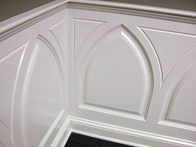 Custom Made Conference Room Custom Wainscoting – Andrew Style