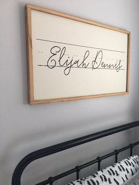 Custom Made Custom Name Sign