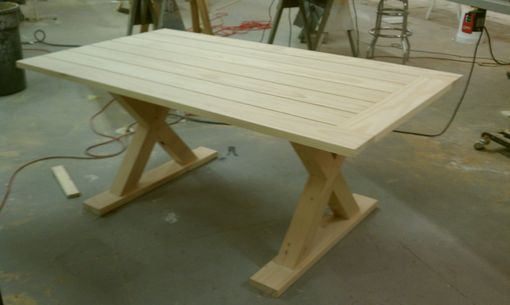 Custom Made Picnic Style Table