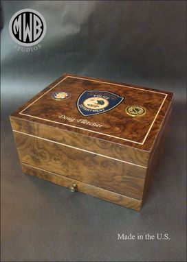 Custom Made Custom Humidor With Drawer