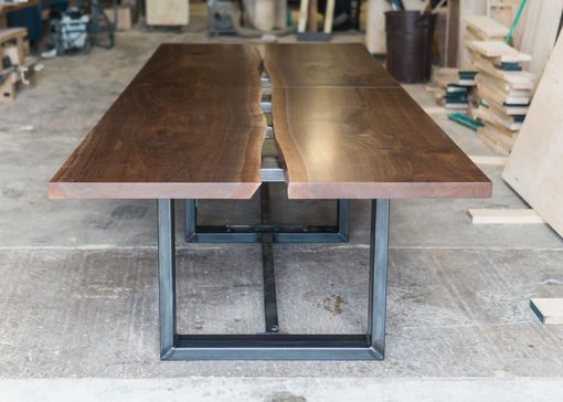 Custom Made Live Edge Boardroom Table