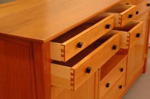 Custom Made Mahogany Sideboard