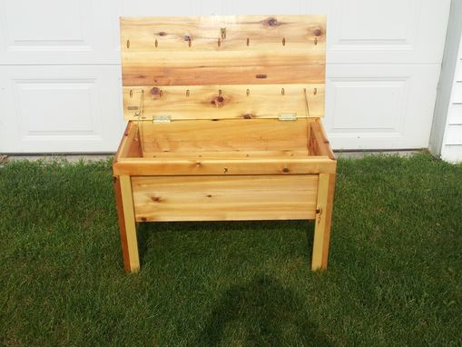 Custom Made Deck Bench/Storage Chest