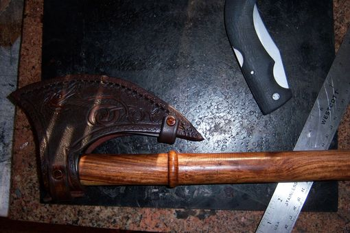 Custom Made Axe Sheath Tomahawk Sheath