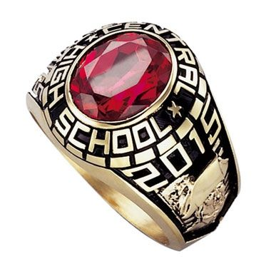 Custom Made Class, College, University Rings