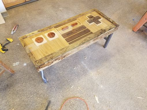 Custom Made Nes Controller Coffee Table