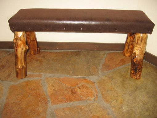 Custom Made Upholstered Bench