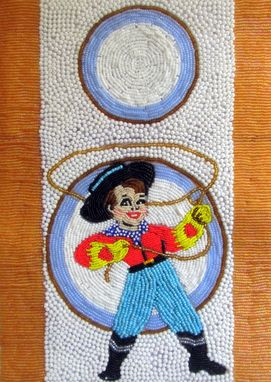 Custom Made Commission Seed Bead Embroidered Purse