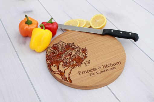 Custom Made Personalized Cutting Board, Engraved Cutting Board, Custom Wedding Gift – Cbr-Wo-Francis&Richard