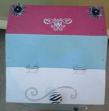 Custom Made One Of A Kind Shabby Secret Treasure Potato Box Used For Children's Decor