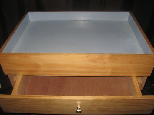 Custom Made Basic Sand Tray With Added Storage Drawer