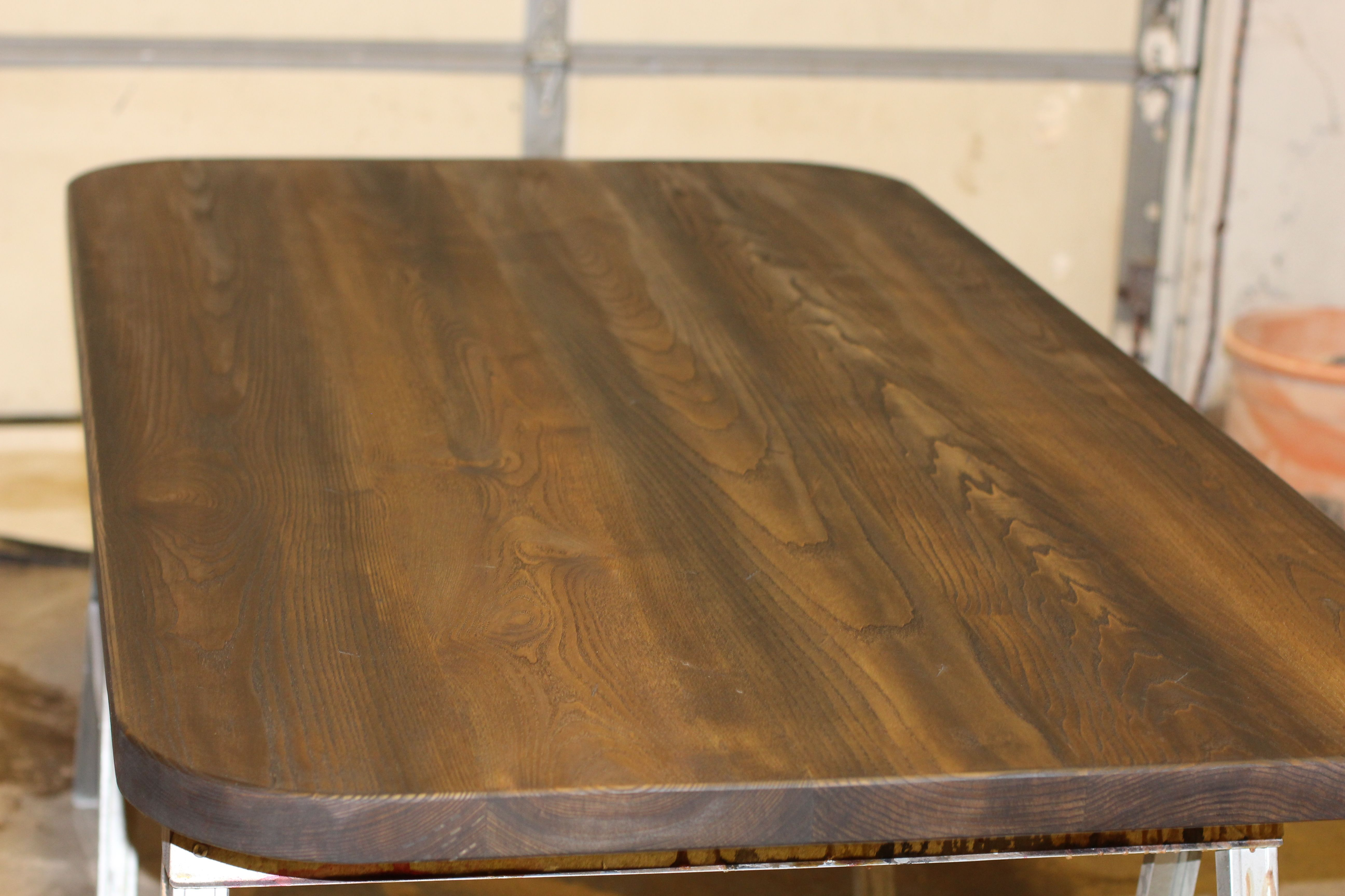 Handmade Custom Ash Table Top By Defiance Hardwood