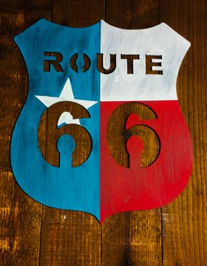 Custom Made Route 66 Sign