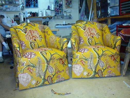 Custom Made Paisley Chairs