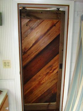 Custom Made Reclaimed Wood Interior Barn Doors