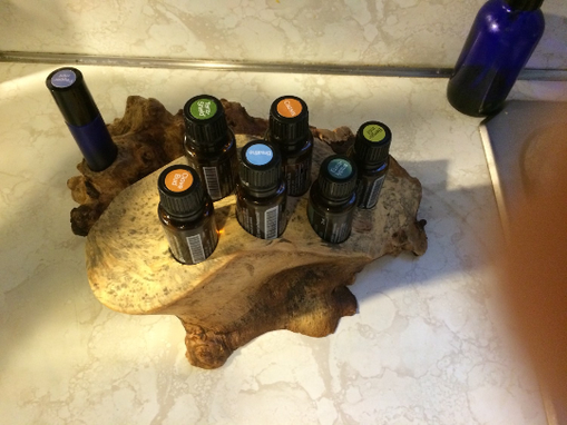 Custom Made Exotic Hardwood Essential Oils Display