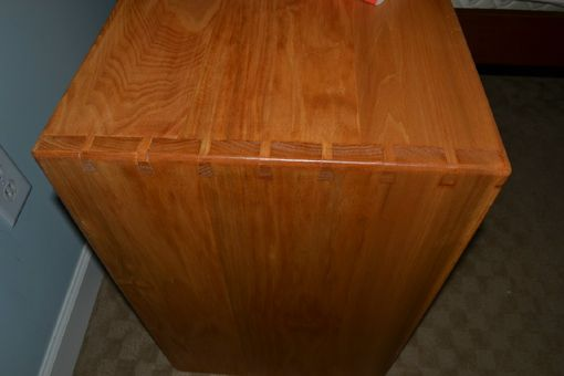 Custom Made Overbed Side Table Easy To Use