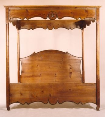 Custom Made #1201 French Country Canopy Bed