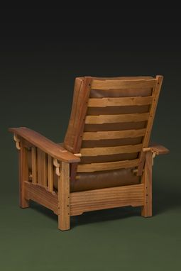 Custom Made Greene And Greene Lounge Chair