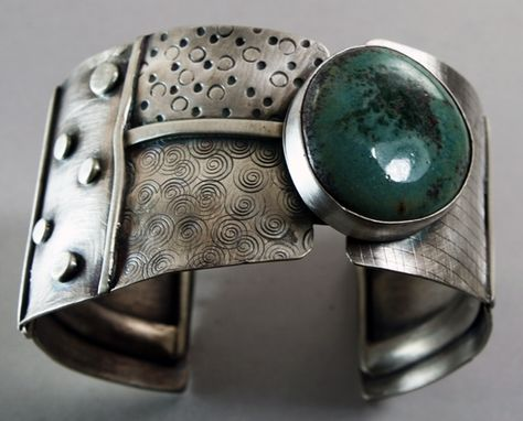 Custom Made Sterling Cuff Bracelet-Available For Purchase Now!