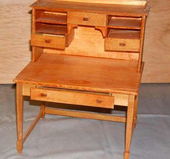 Custom Made Replica Thoreau's Desk