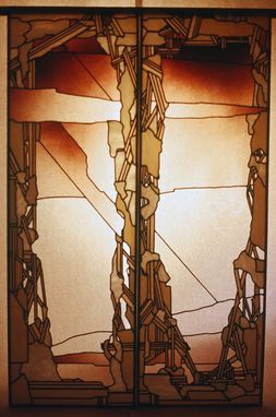 Custom Made Stained Glass And Hand Blown Lighting