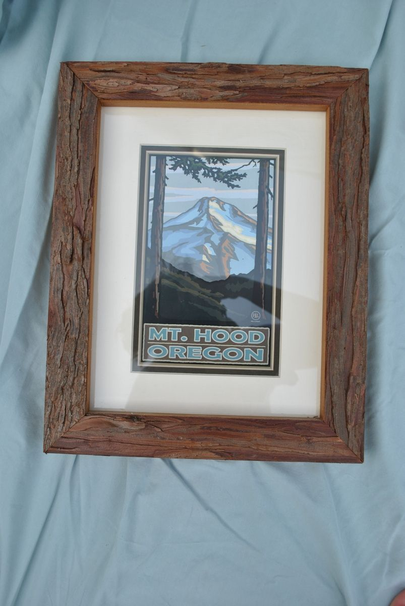 Hand Crafted Bark Picture Frame By Phil S Woodwork
