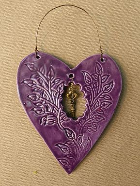 Custom Made Reserved For Nancy, 3 Hearts Of Hope Ornaments