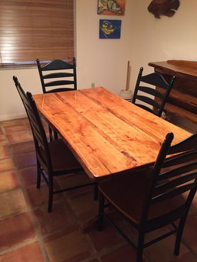 Custom Made Live Edge Tables