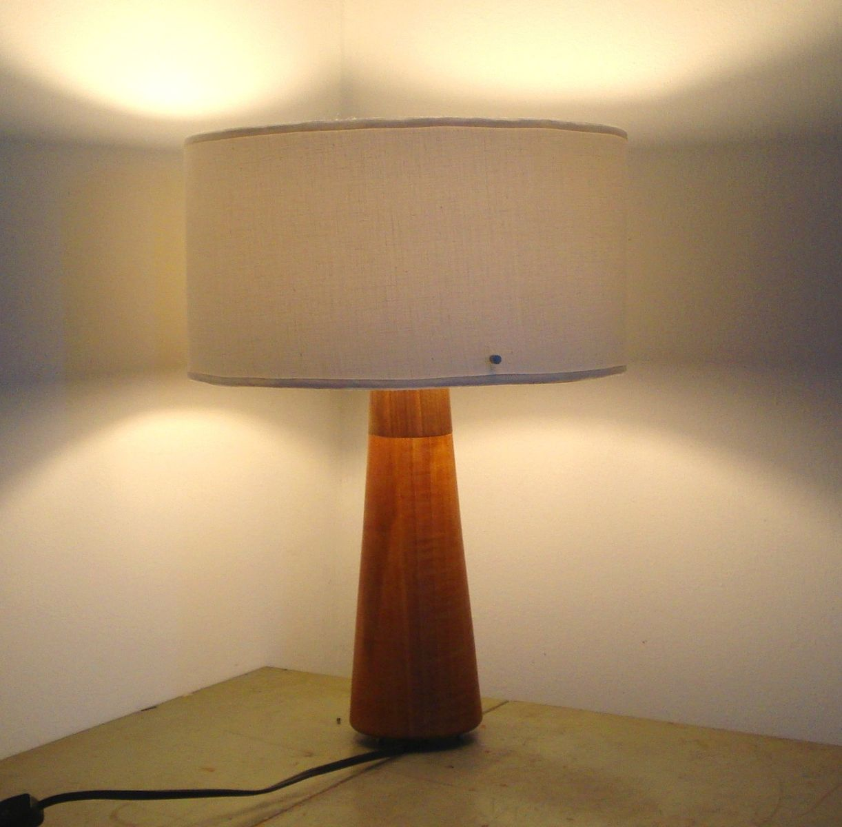Hand Crafted Mid Century Modern Table Lamp By Makeville Studio