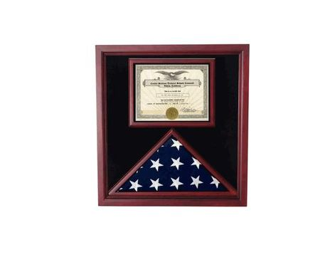 Custom Made Retirement Flag Case