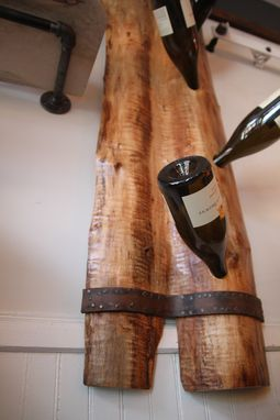 Custom Made Wall Wine Rack