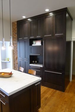 Hand Crafted Custom Kitchen Cabinetry, Stained Rift-Sawn Oak by ...